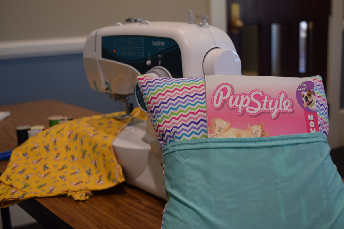 Pendergast 8th-graders, volunteers make pillows stuffed with love, literacy ReadingPillowNewest