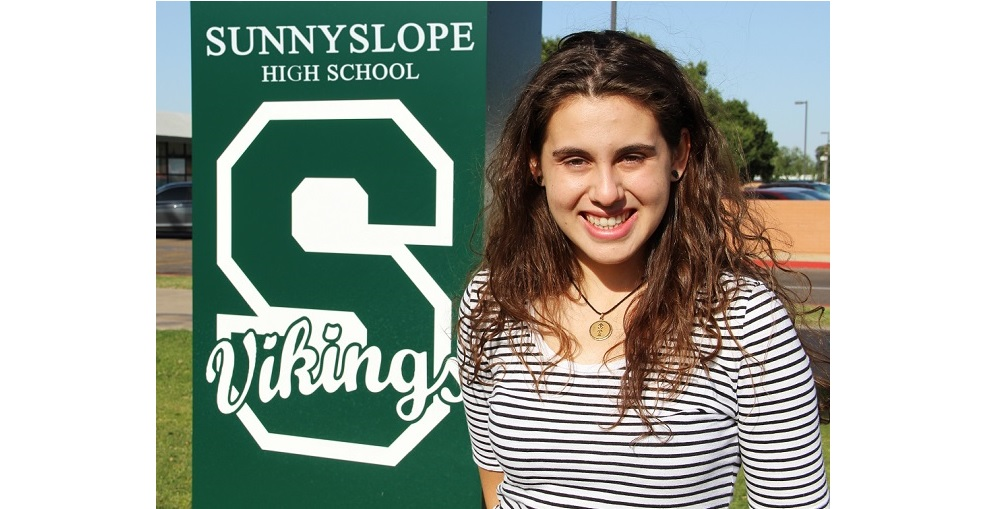 Bailey Lockwood Is A Flinn Scholar From Sunnyslope High School In Phoenix. Photo Courtesy Tony Padilla/Glendale Union High School