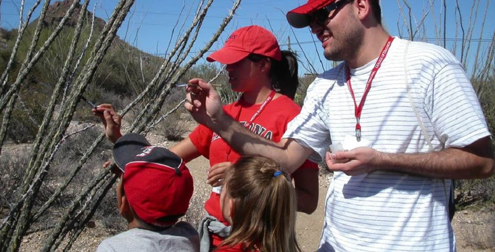 Students Taking Part In Activities At Camp Cooper. Photo Courtesy Of Cooper Center For Environmental Learning