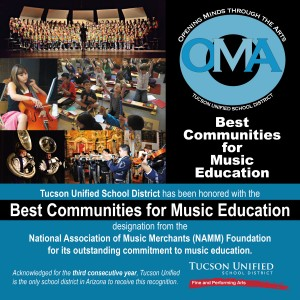 Tucson Unified's music program receives national recognition OMA_BestCommunityAward_SHARE-01-300x300