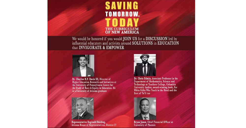 Saving Tomorrow Today | The Curriculum Of The New America
