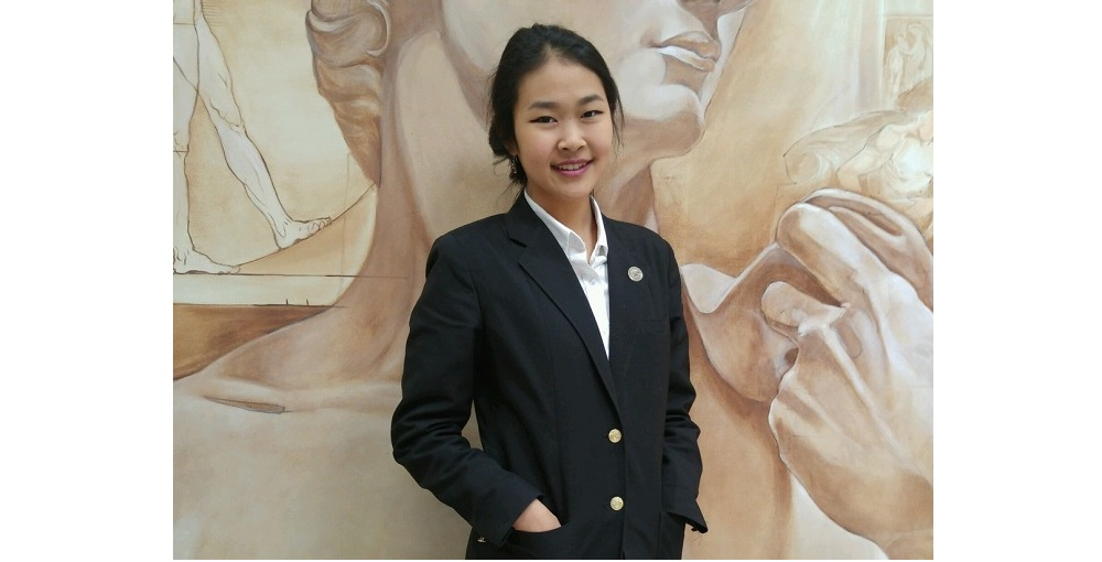 Tina Peng Is A Flinn Scholar From Chandler Prep, A Great Hearts Academies School. Photo Courtesy Great Hearts Academies.