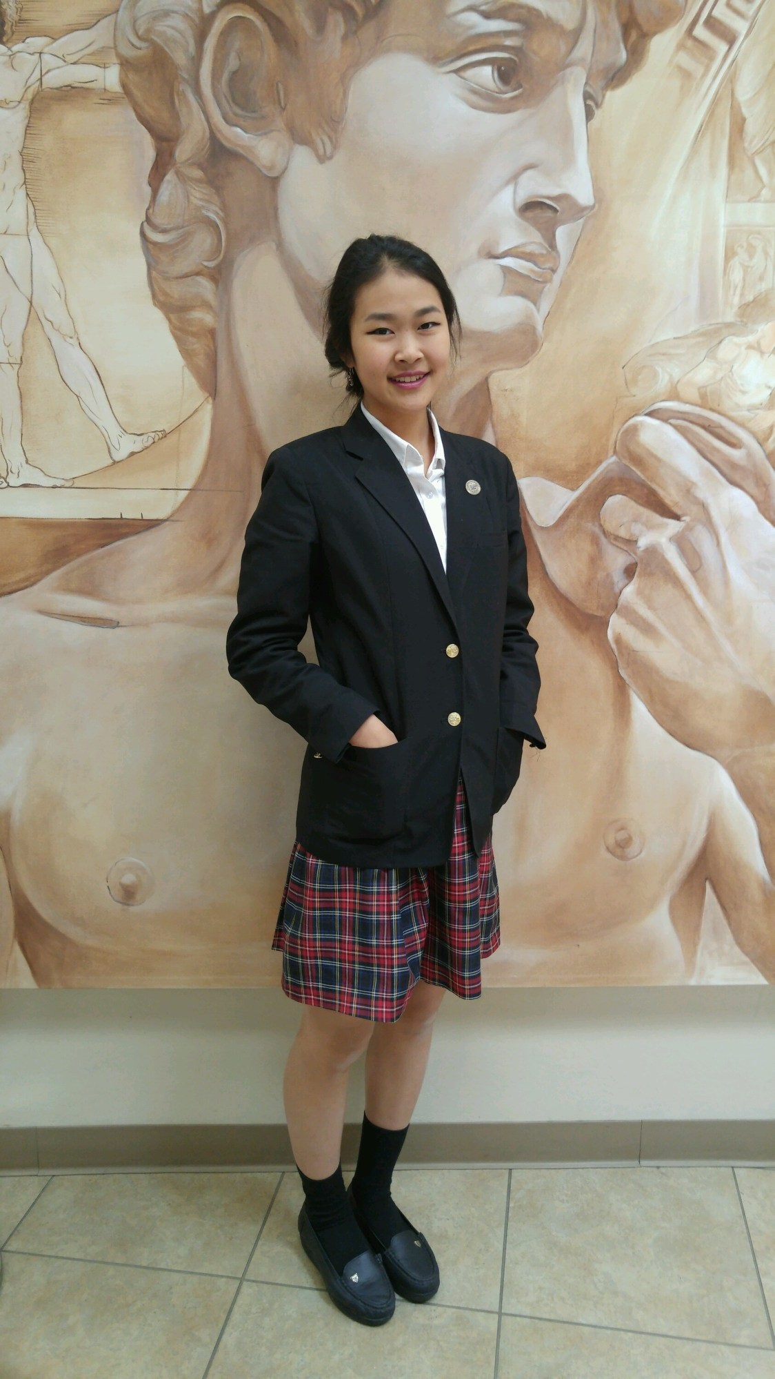 Chandler student looks to pursue intellectual and artistic endeavors TinaPeng2