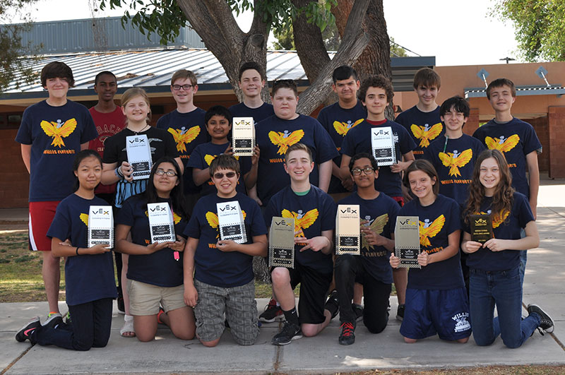 Willis Jr. High Team Earns Spot At Vex Robotics World Competition