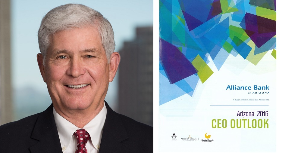 Jim Lundy, CEO Of Alliance Bank Of Arizona And The Arizona 2016 CEO Outlook Survey