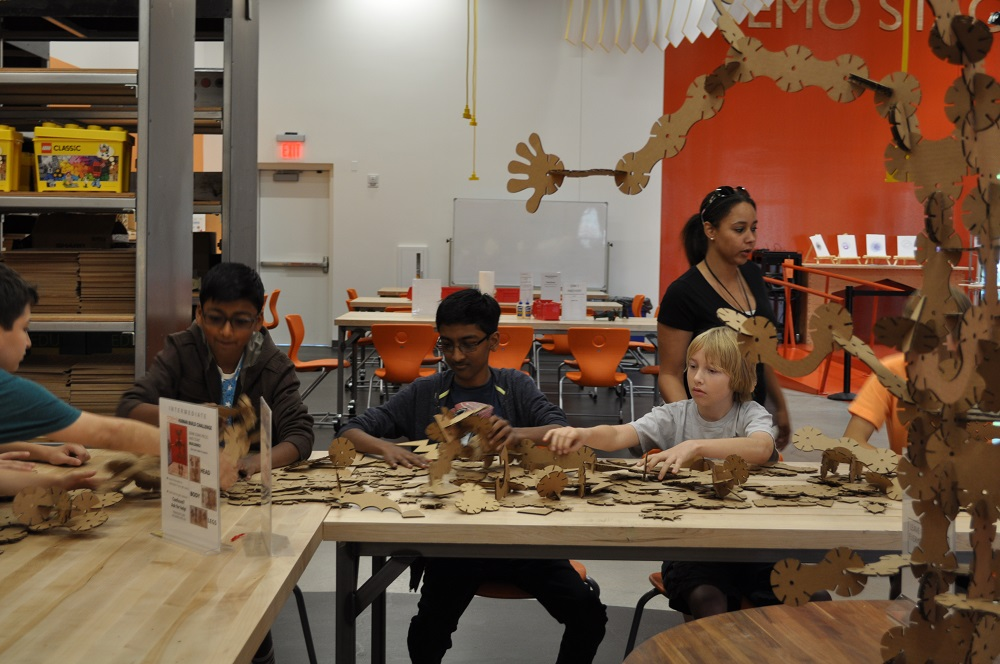Sense of wonder leads to learning at CREATE at Arizona Science Center Large-Group-Teamwork