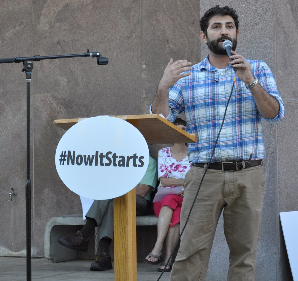 Community comes together to support education at #Now It Starts rally RonyAssali