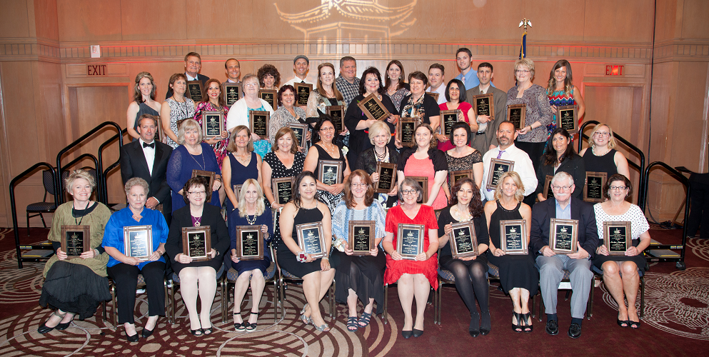 2016 Washington Elementary School District Lamp Of Learning Honorees