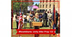 #NowItStarts: Unity after Prop. 123 election rally-prop-123-300x153