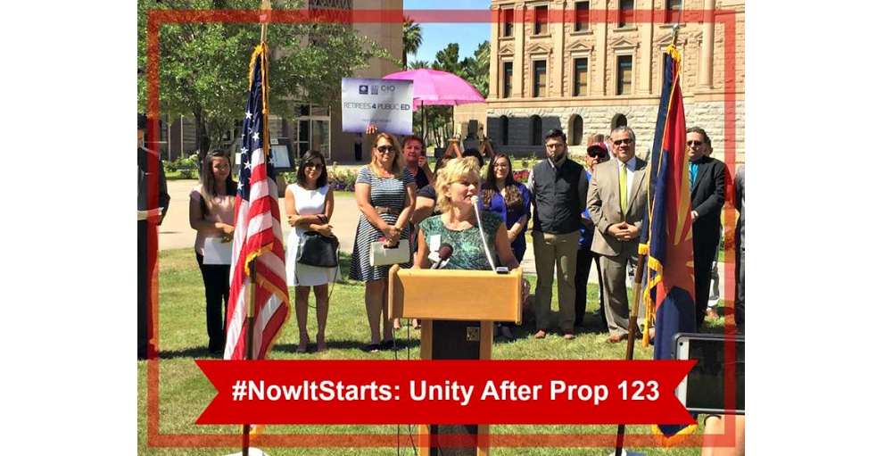 #NowItStarts: Unity After Prop. 123 Election