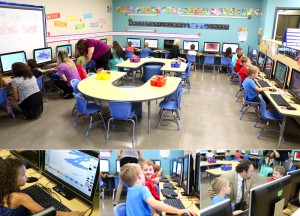 District dedicates new preschool learning lab aECDC_complab-300x216