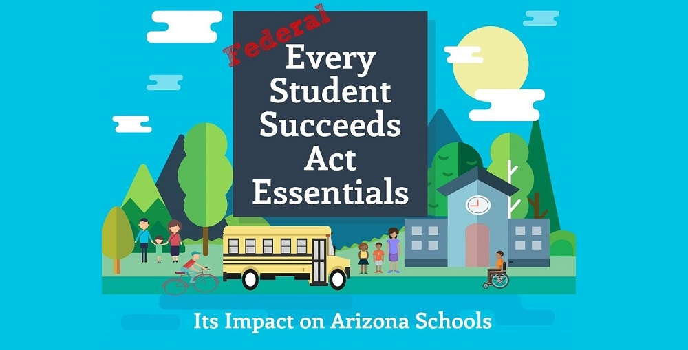 ESSA Essentials Infographic By Lisa Irish/AZEdNews Home Page Version