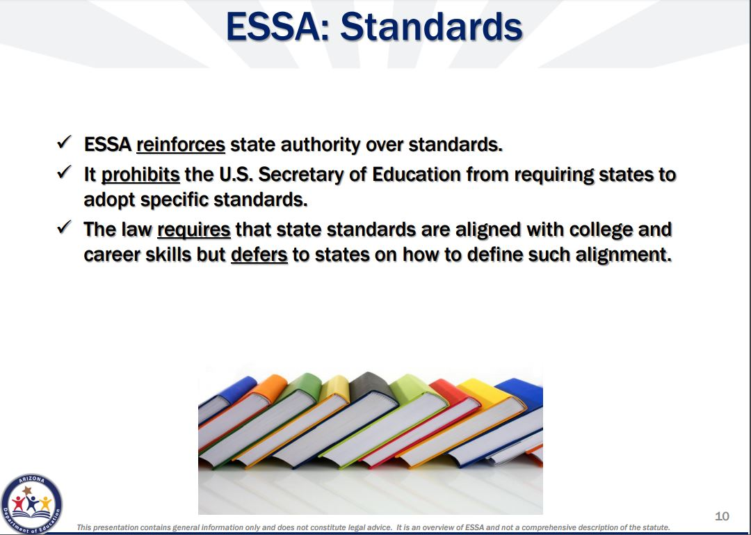 How the Every Student Succeeds Act will impact Arizona's schools Standards