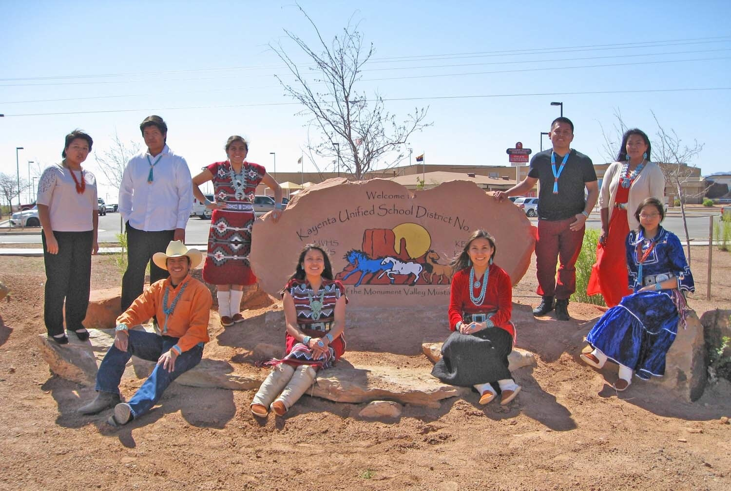 Arizona schools strive to bridge digital opportunity gap Kayenta-Unified-Students