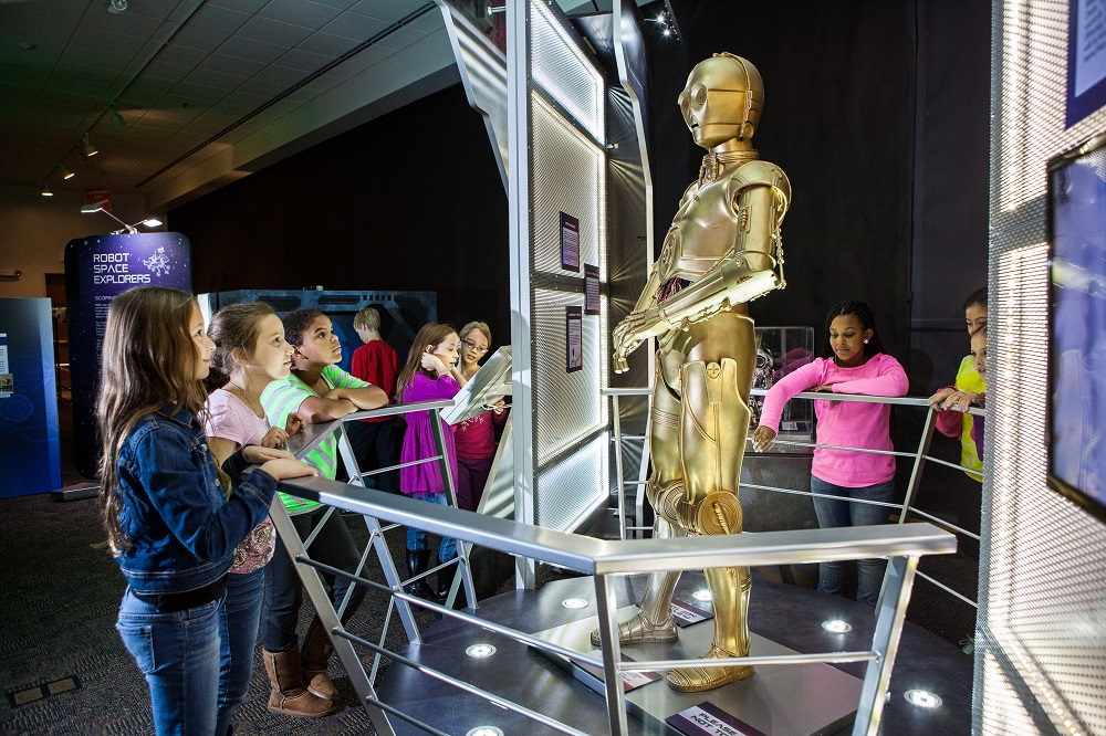 Alien Worlds and Androids Lands at Arizona Science Center this Fall C3PIO