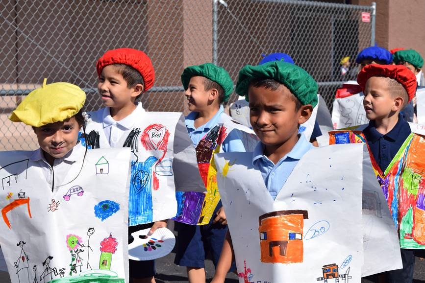 Tarver Elementary celebration emphasizes building dreams at a young age painters