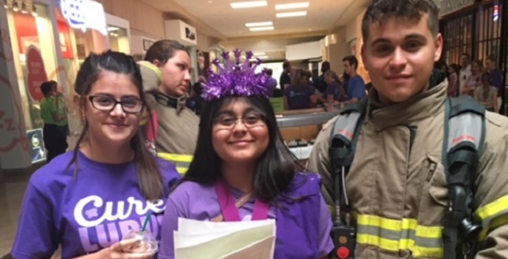 Amarissa Mauricio (Middle) Takes A Picture With Peyton Lea Miller (left) And Her Brother, Brandon Mauricio (right) During The Event. Photo Courtesy Florence Unified School District