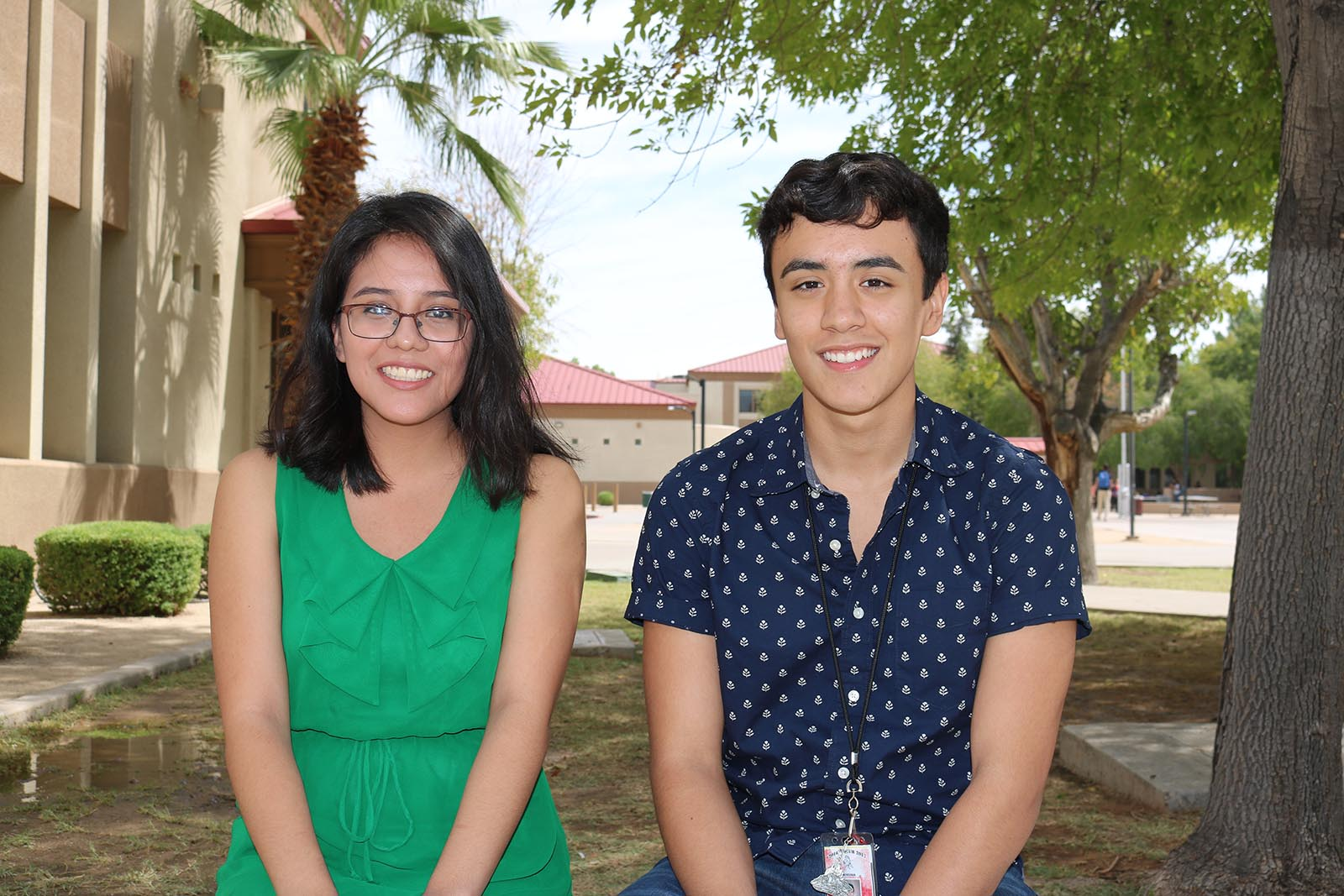 Magda Rodriguez And Eli Carreon Were Named College Board National Hispanic Recognition Scholars. Photo Courtesy Phoenix Union HIgh School District