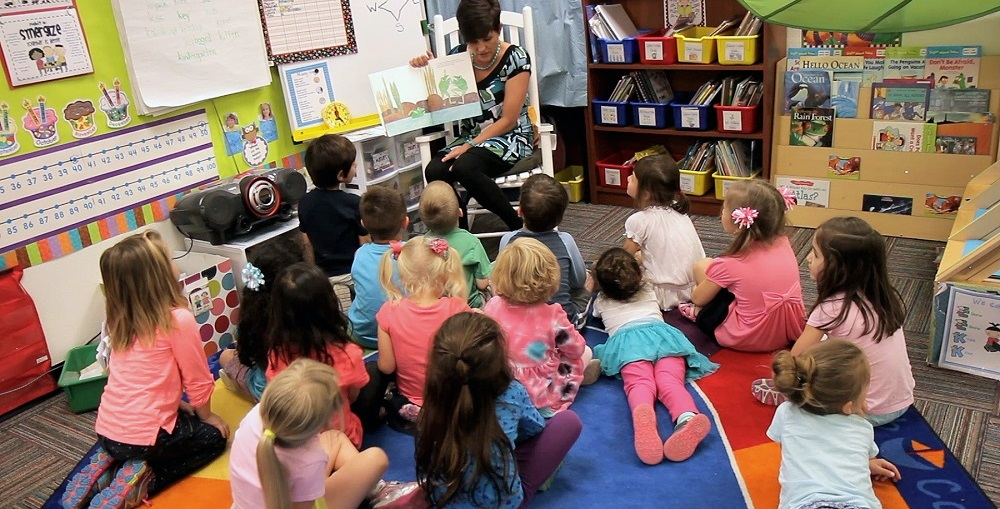 Students In A Gifted Preschool Class At Desert Cove Elementary School In Paradise Valley Unified School District. Photo Courtesy Of Jay Lee/PVSchools