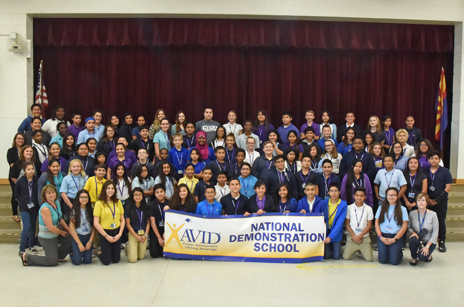 Connolly Middle School Achieves Third AVID Revalidation