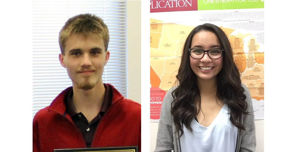 Two Rio Rico High School Seniors, Areli Diaz And Jonah McCoy, Were Selected As Finalists In The Questbridge National College Match Program. Photos Courtesy Rio Rico High School