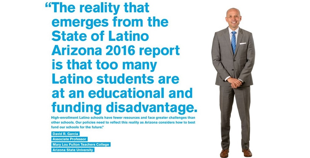 David Garcia, Co-author Of The State Of Latino Arizona 2016. Photo Courtesy The State Of Latino Arizona 2016