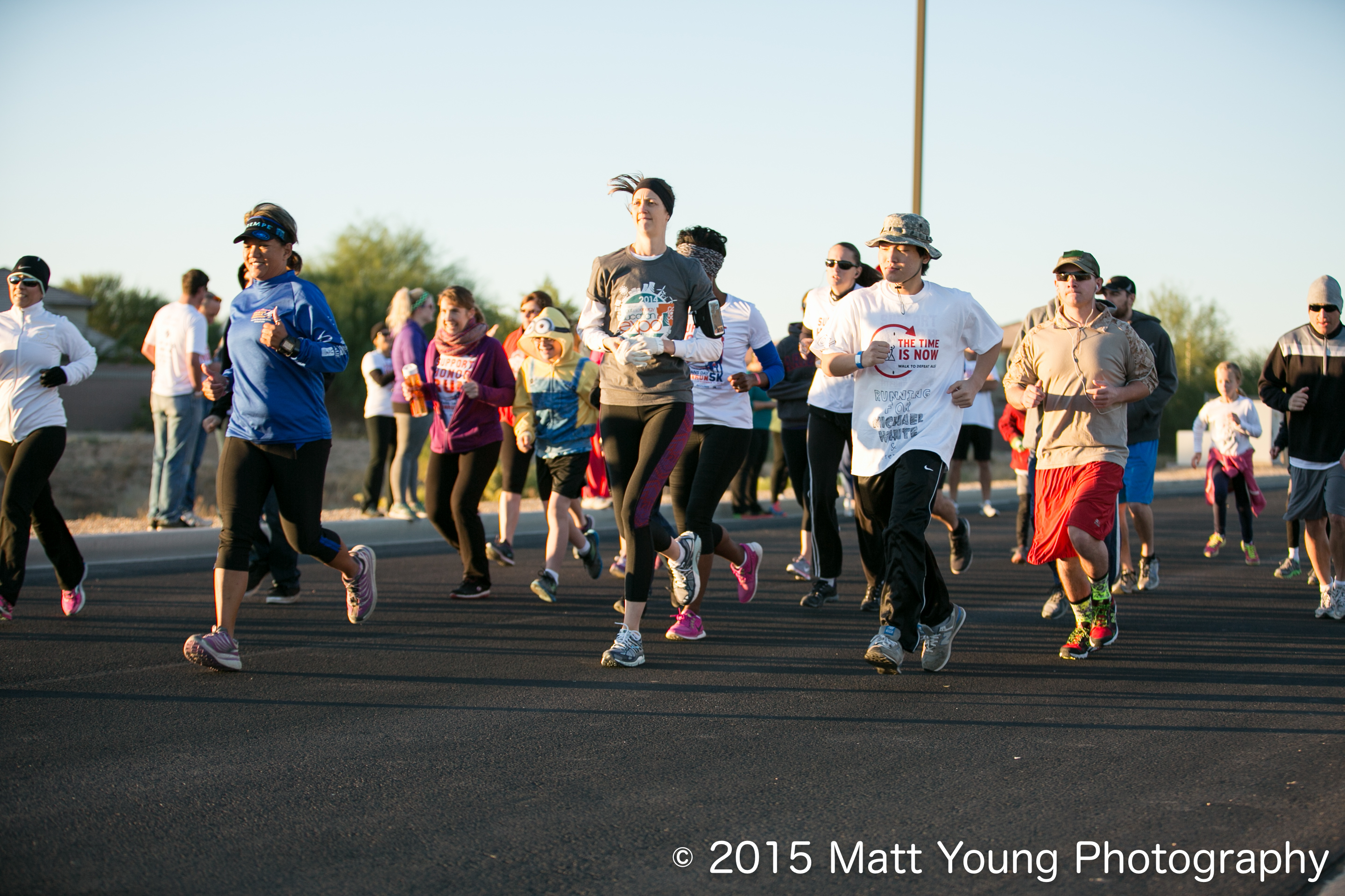 Veterans Day Fun Run. Photo Courtesy Matt Young Photography