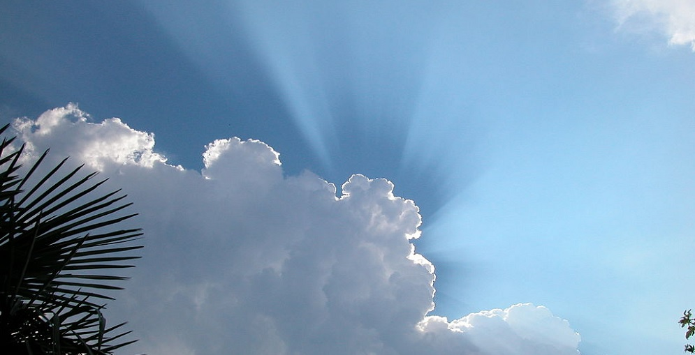 Rays Of Sunshine Through Clouds. Photo Courtesy Of Gnumarcoo