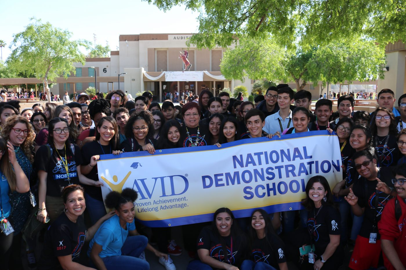 North High School In Phoenix Becomes AVID Demonstration School