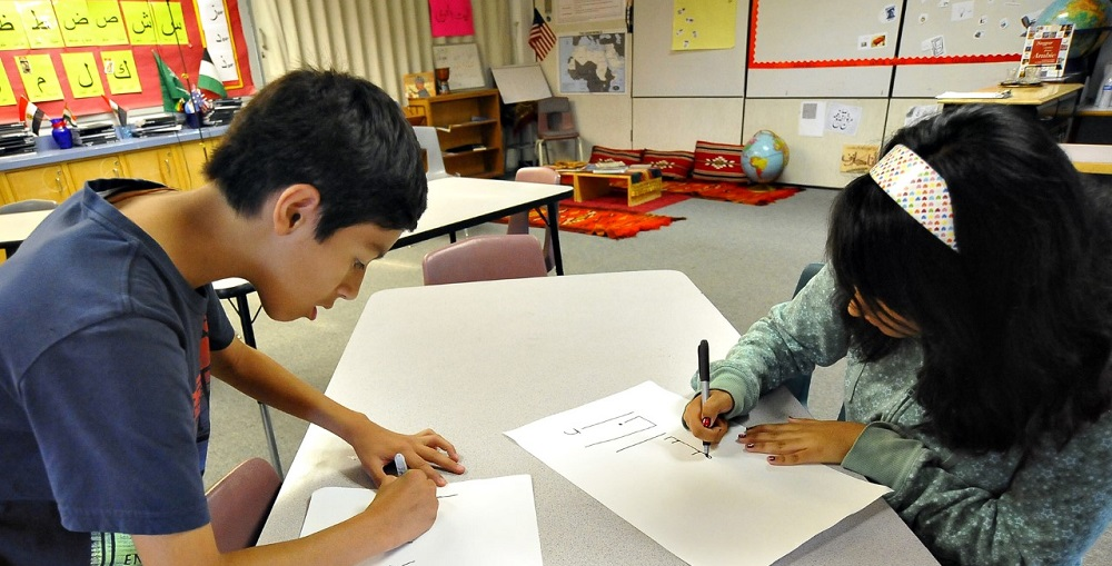 Students Working Together In The Arabic Language Program In Tucson Unified School District. Photo Courtesy Tucson Unified School District