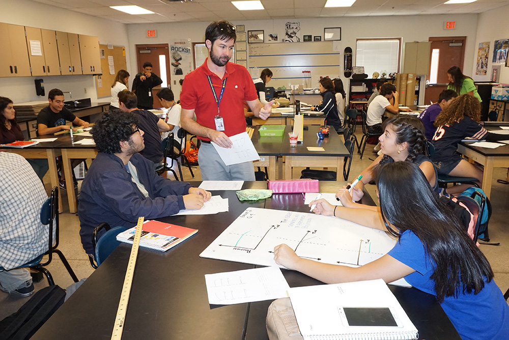 Tolleson Union High School District Teacher Recognized As Outstanding High School Physics Teacher For Arizona