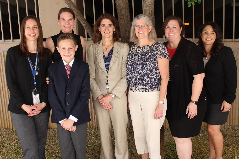 The Dyslexia Handbook Working Group. Photo Courtesy The Arizona Department Of Education