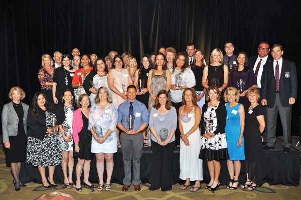 The Outstanding Scottsdale Educators Honored By The Scottsdale Charros At The 30th Annual Teacher And Student Recognition Event. (Submitted Photo)