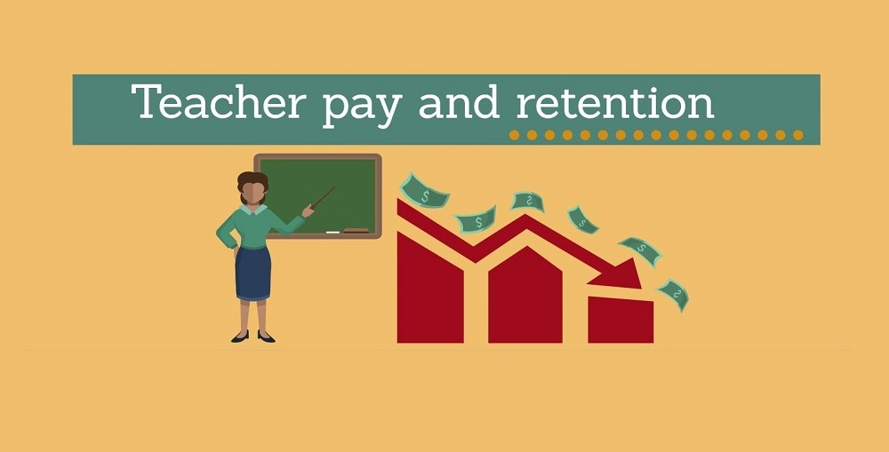 A Portion Of The Teacher Pay And Retention Infographic By Lisa Irish/AZEdNews