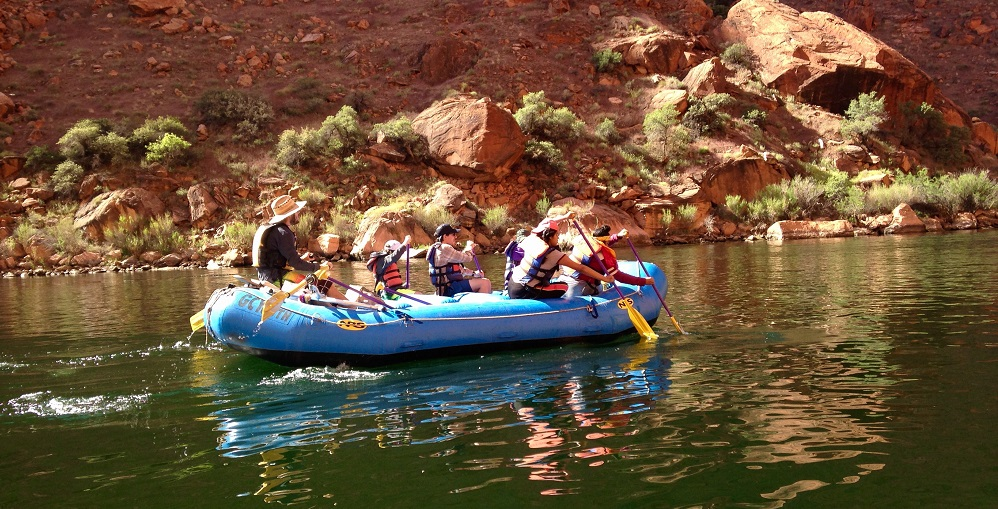 Students From Alpine Leadership Academy Take Part In A River Program With Grand Canyon Youth. Photo Courtesy Flagstaff Unified School District