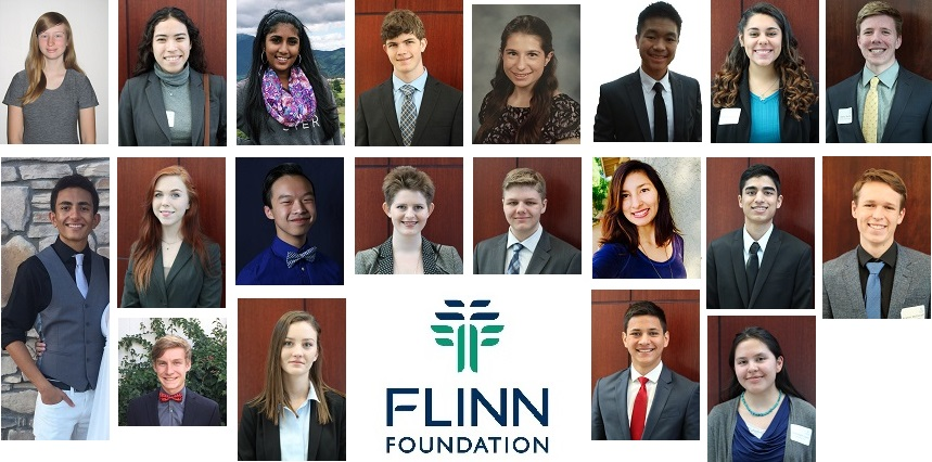 Flinn Foundation Scholars 2017. Photos Courtesy The Flinn Foundation