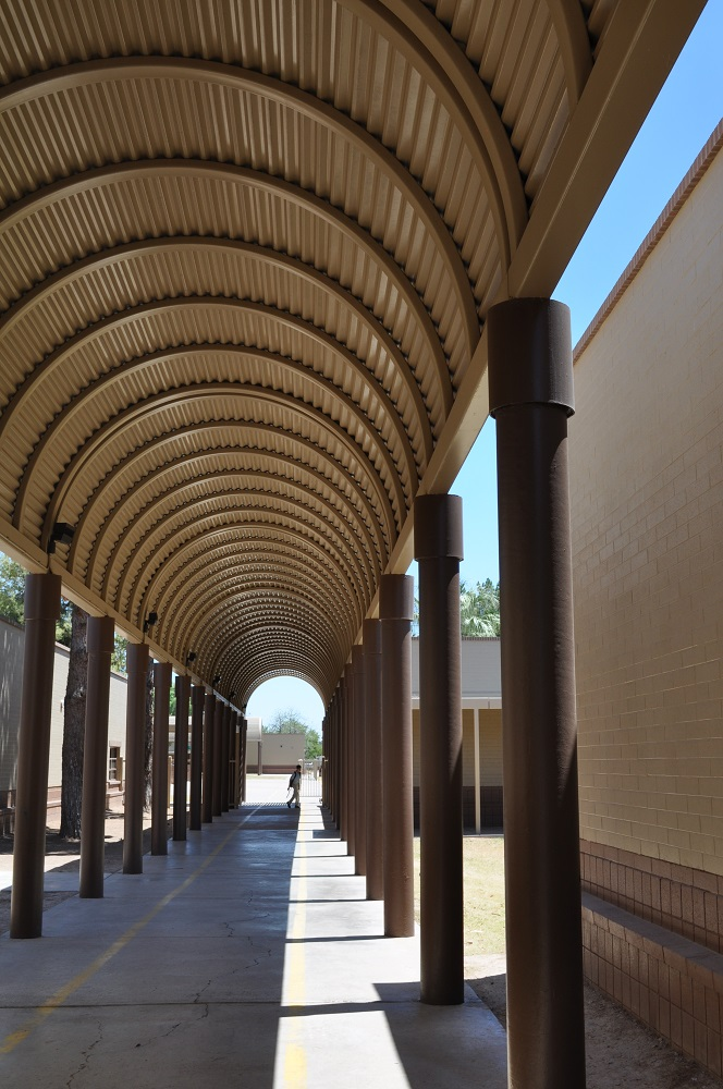 Schools, education advocates sue State of Arizona over capital funding (+ Video) LandmarkElementaryWalkway