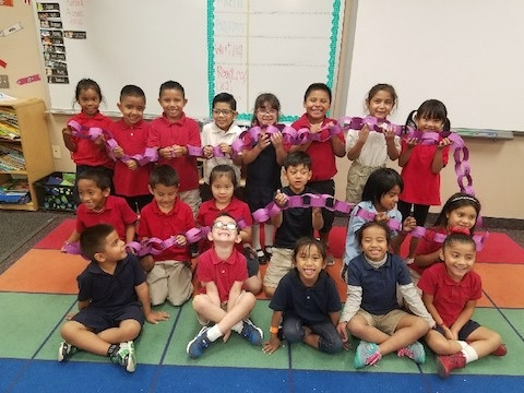 Kindergarten Students At Holdeman Elementary School. Photo Courtesy Of Tempe Elementary School District
