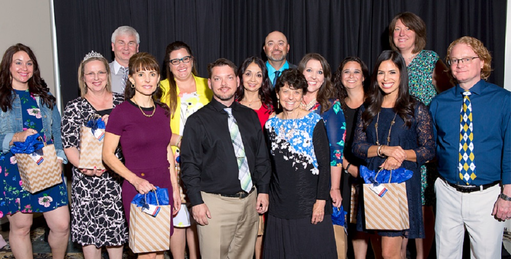 Principals, District Leaders, Colleagues And Families Came Together Thursday, April 28, To Honor The 2017 Teachers Of The Year In The Higley Unified School District.