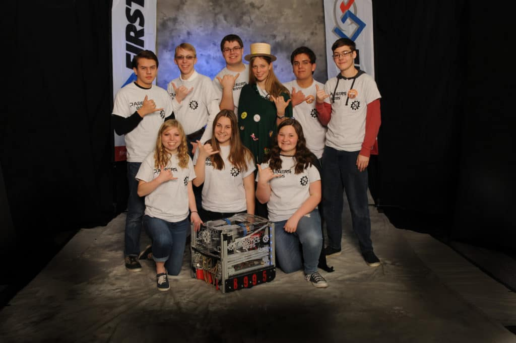 Mogollon High School Robotics Club. Photo Courtesy Of Expect More Arizona