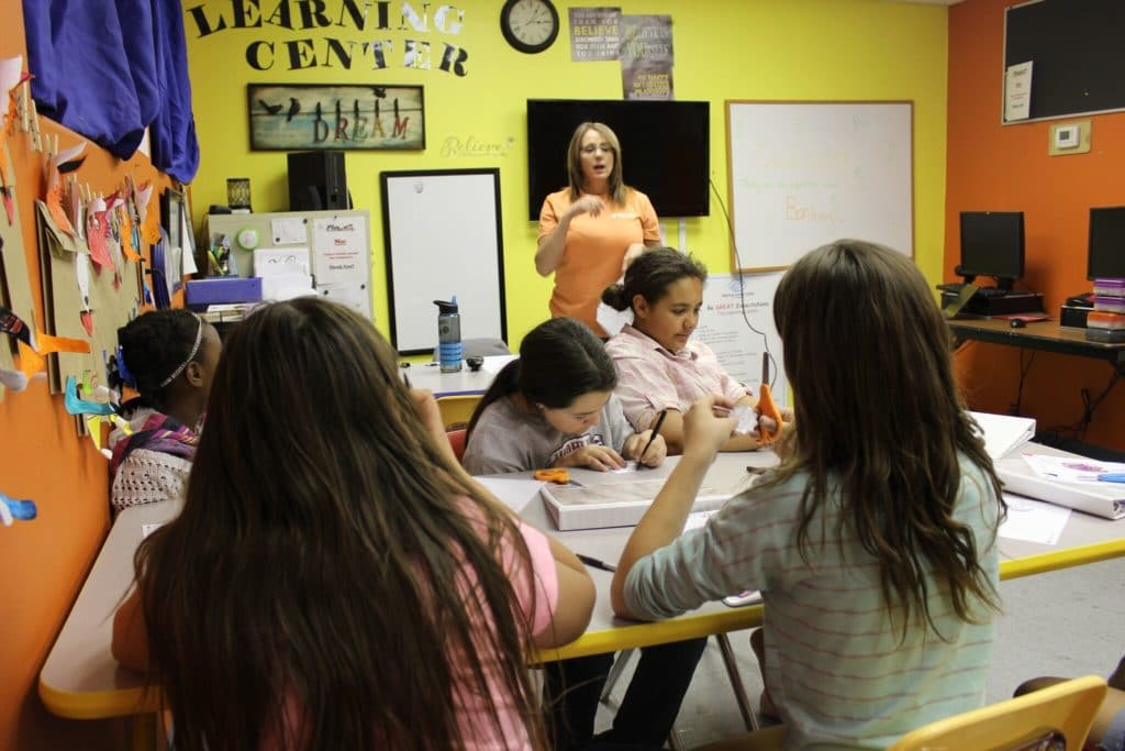 The Boys & Girls Club Of Kingman Began To Integrate More STEM Education Into Their Programs. Photo Courtesy Of Expect More Arizona