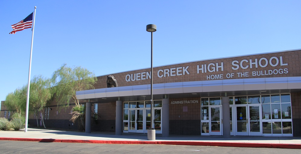 Queen Creek High School. Photo Courtesy Of Queen Creek Unified School District