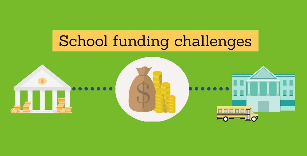 A Portion Of The School Funding Challenges Infographic By Lisa Irish/AZEdNews