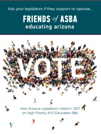 Voting records reveal legislators' levels of support for public education FriendsOfASBAGuide