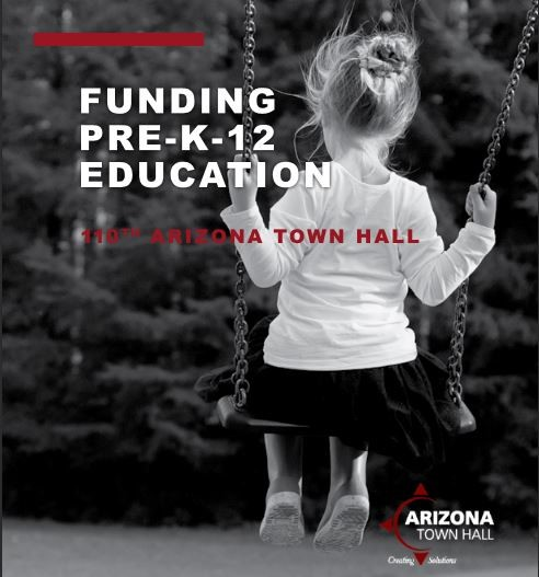 Funding Pre-K-12 Education Report: 110th Arizona Town Hall. Link To Report At: Http://aztownhall.org/resources/Documents/110%20Funding%20preK-12%20Education%20Background%20Report%20web.pdf