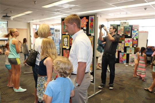 Kyrene School District Art Show. Photo Courtesy Of Kyrene Elementary School District