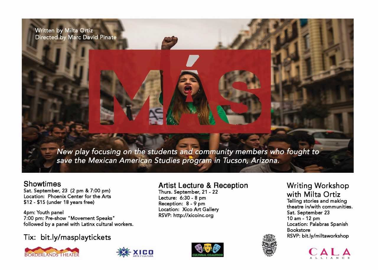 Play addresses controversy in Mexican-American Studies ban MAS-play-flyer
