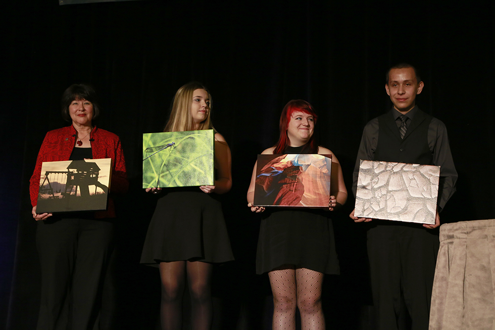 Winners Of The ASBA Photography Contest Display Their Work At The Annual Conference. Photo By Mike Barcia/ASBA