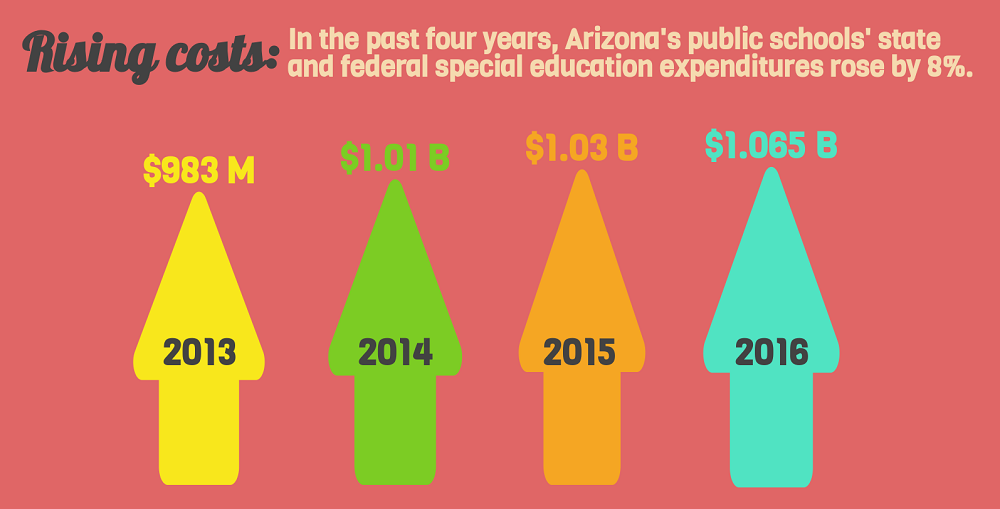 A Portion Of The AZEdNews Special Education Expenditures Infographic By Lisa Irish/AZEdNews