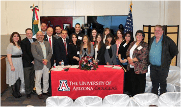 Scholarships Are Supported By Three Funding Avenues, Including The Institute Of Mexican Abroad Becas Fund, The University South Foundation And An Annual Regional Fundraiser, Which Is Supported By The Generosity Of Douglas-area Residents. Photos Courtesy University Of Arizona - Douglas